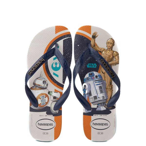 Main view of Havaianas Star Wars Droids Top Sandal - Blue / Multicolor