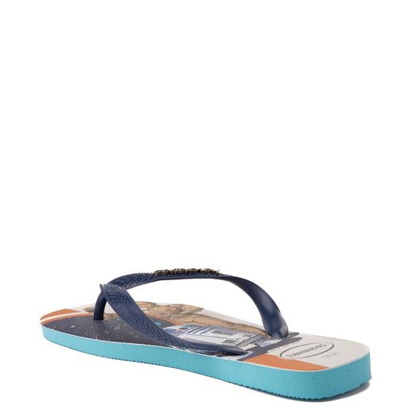 alternate view Havaianas Star Wars Droids Top Sandal - Blue / MulticolorALT1B