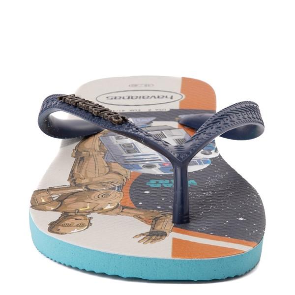 alternate view Havaianas Star Wars Droids Top Sandal - Blue / MulticolorALT4