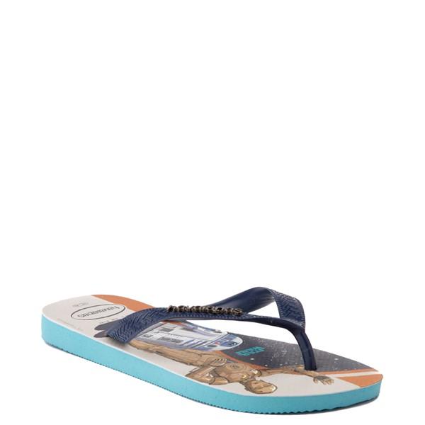 alternate view Havaianas Star Wars Droids Top Sandal - Blue / MulticolorALT5