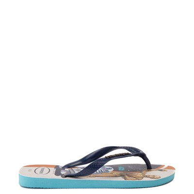 Alternate view of Havaianas Star Wars Droids Top Sandal - Blue / Multicolor