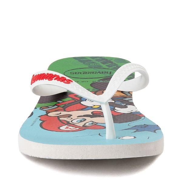 alternate view Havaianas Super Mario Kart Sandal - WhiteALT4