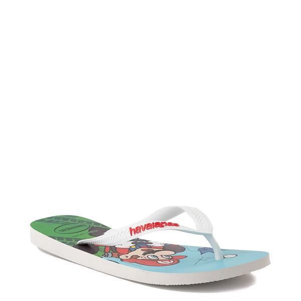 alternate view Havaianas Super Mario Kart Sandal - WhiteALT5