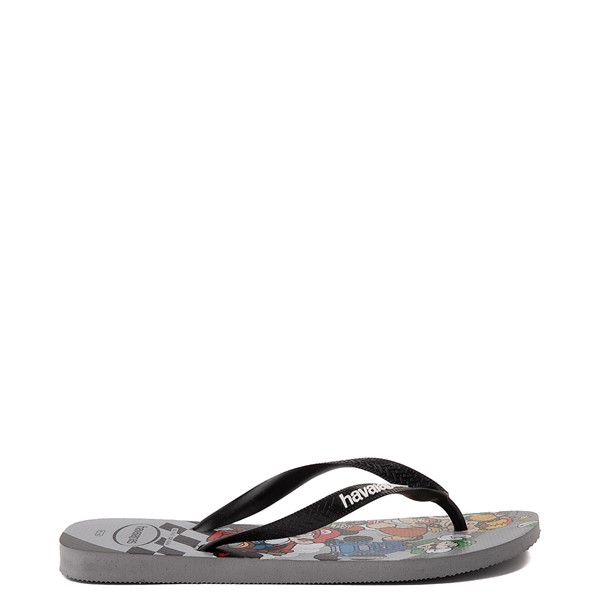 alternate view Havaianas Super Mario Kart Sandal - Steel GrayALT1