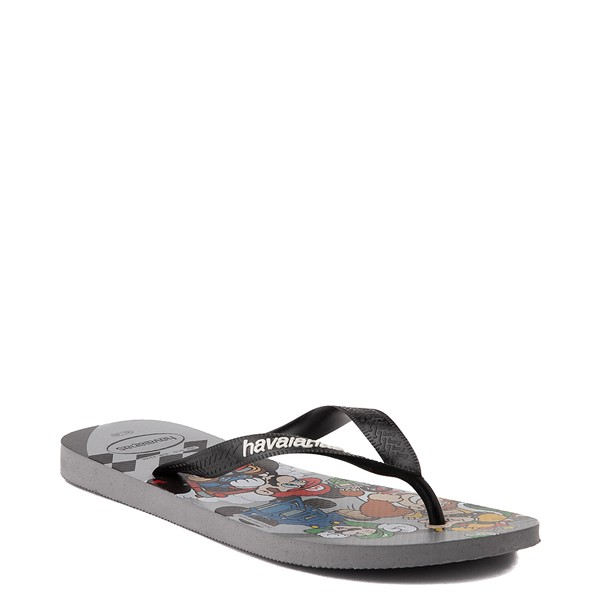alternate view Havaianas Super Mario Kart Sandal - Steel GrayALT5