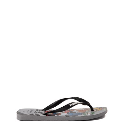 Alternate view of Havaianas Super Mario Kart Sandal - Steel Gray