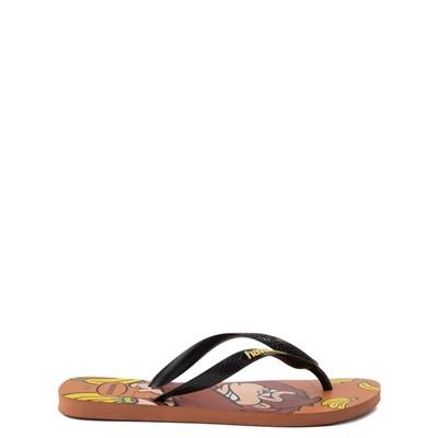 Alternate view of Havaianas Donkey Kong Sandal - Rust