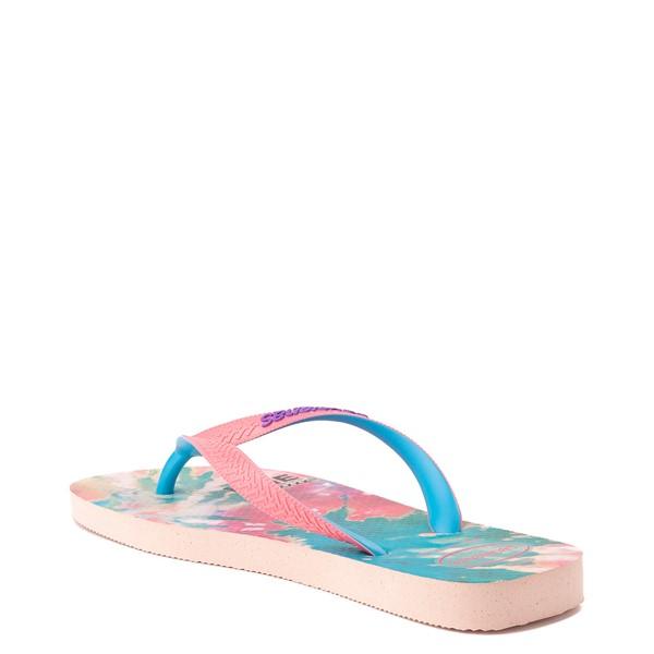 alternate view Womens Havaianas Top Sandal - Tie Dye / Ballet RoseALT1B