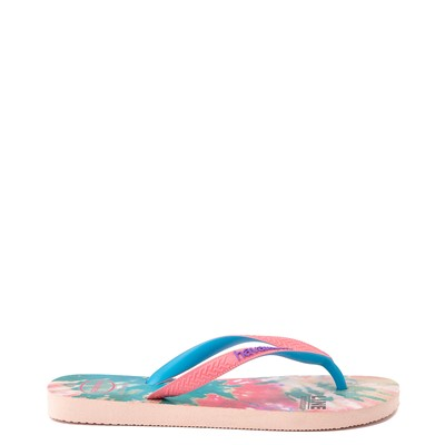 Alternate view of Womens Havaianas Top Sandal - Tie Dye / Ballet Rose