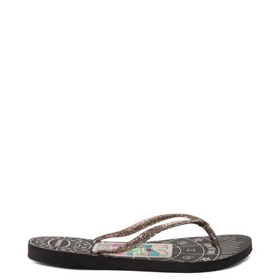 Alternate view of Havaianas Slim Mystic Sandal - Black