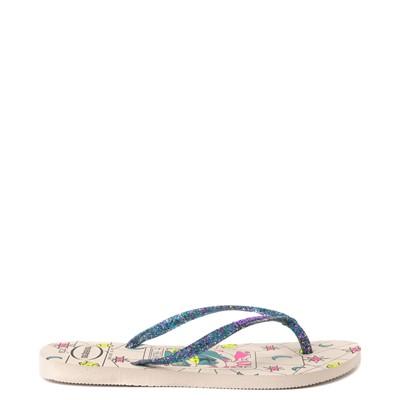 Alternate view of Havaianas Slim Mystic Sandal - Beige