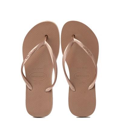 Alternate view of Womens Havaianas Slim Flatform Sandal - Rose Gold