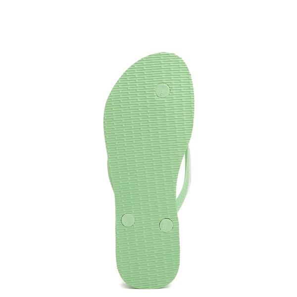 alternate view Womens Havaianas Slim Flatform Sandal - Hydro GreenALT3