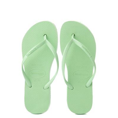 Alternate view of Womens Havaianas Slim Flatform Sandal - Hydro Green