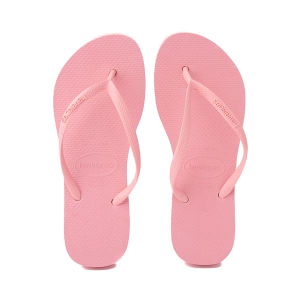 alternate view Womens Havaianas Slim Flatform Sandal - MacaronALT1