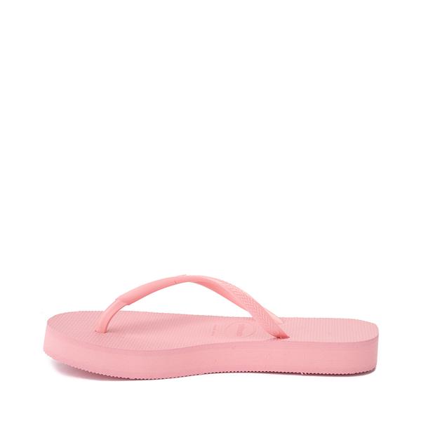 alternate view Womens Havaianas Slim Flatform Sandal - MacaronALT1B