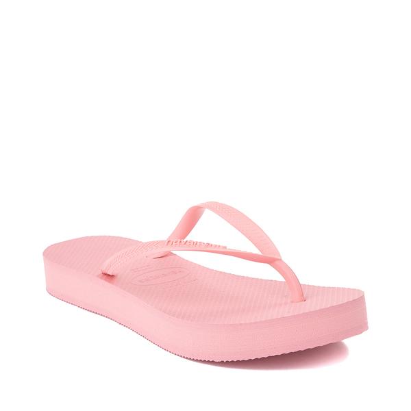 alternate view Womens Havaianas Slim Flatform Sandal - MacaronALT5