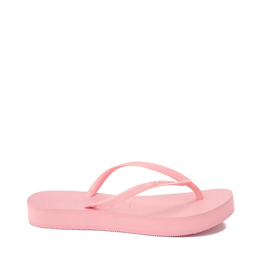 Womens Havaianas Slim Flatform Sandal - Macaron