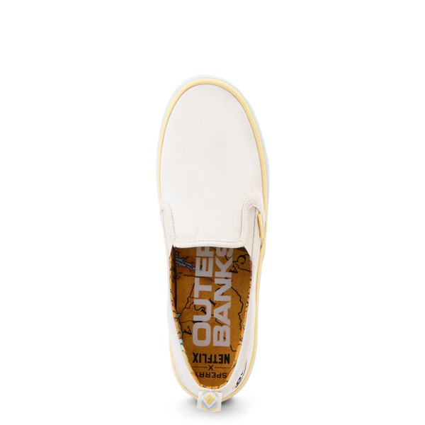 alternate view Womens Sperry Top-Sider x Outer Banks Crest Slip On Casual Shoe - NaturalALT2