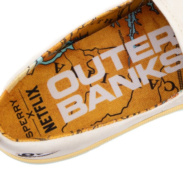 alternate view Womens Sperry Top-Sider x Outer Banks Crest Slip On Casual Shoe - NaturalALT2B
