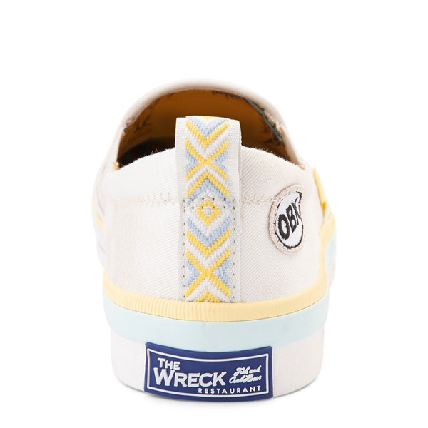 alternate view Womens Sperry Top-Sider x Outer Banks Crest Slip On Casual Shoe - NaturalALT4