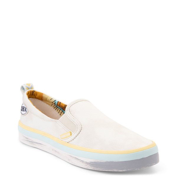 alternate view Womens Sperry Top-Sider x Outer Banks Crest Slip On Casual Shoe - NaturalALT5