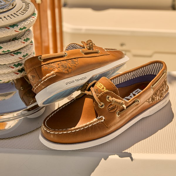 alternate view Womens Sperry Top-Sider x Outer Banks Authentic Original Vida Boat Shoe - TanALT1B