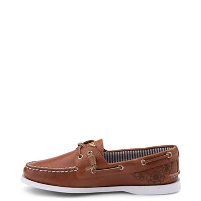 Alternate view of Womens Sperry Top-Sider x Outer Banks Authentic Original Vida Boat Shoe - Tan