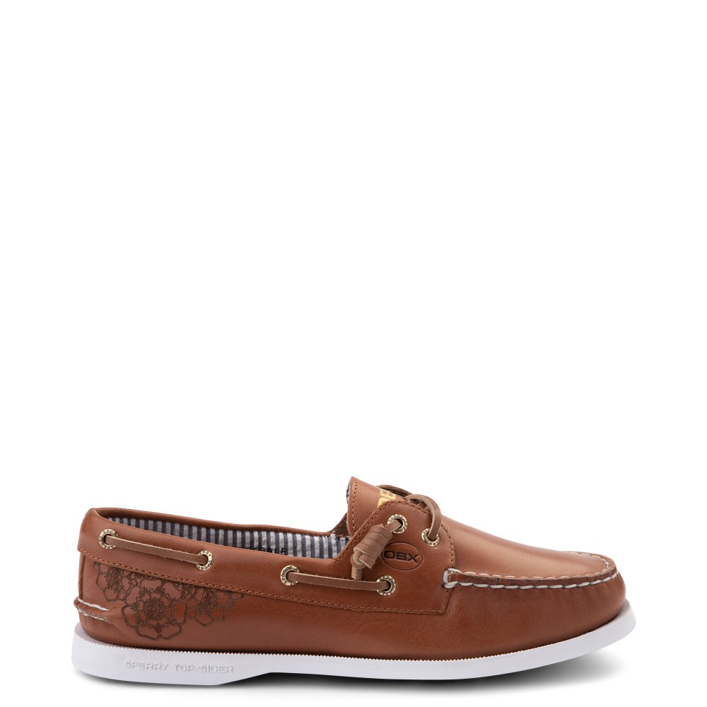 Womens Sperry Top-Sider x Outer Banks Authentic Original Vida Boat Shoe - Tan