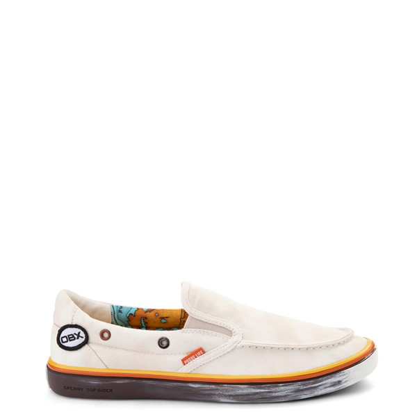 Main view of Mens Sperry Top-Sider x Outer Banks Slip On Casual Shoe - Natural