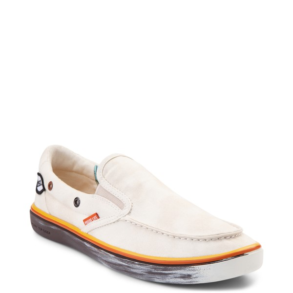 alternate view Mens Sperry Top-Sider x Outer Banks Slip On Casual Shoe - NaturalALT5