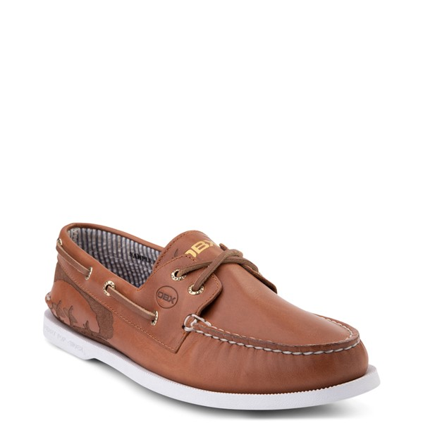 alternate view Mens Sperry Top-Sider x Outer Banks Authentic Original Boat Shoe - TanALT5