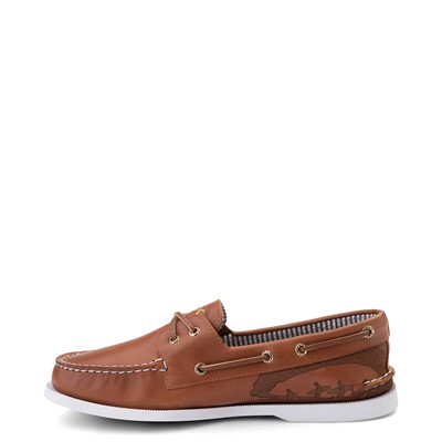 Alternate view of Mens Sperry Top-Sider x Outer Banks Authentic Original Boat Shoe - Tan