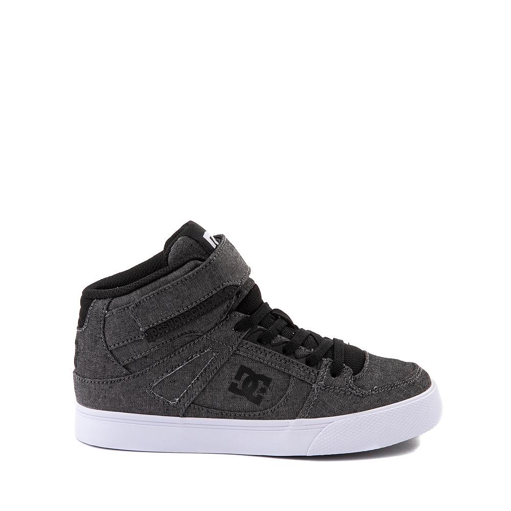 DC Pure Hi EV Skate Shoe - Little Kid / Big Kid - Gray