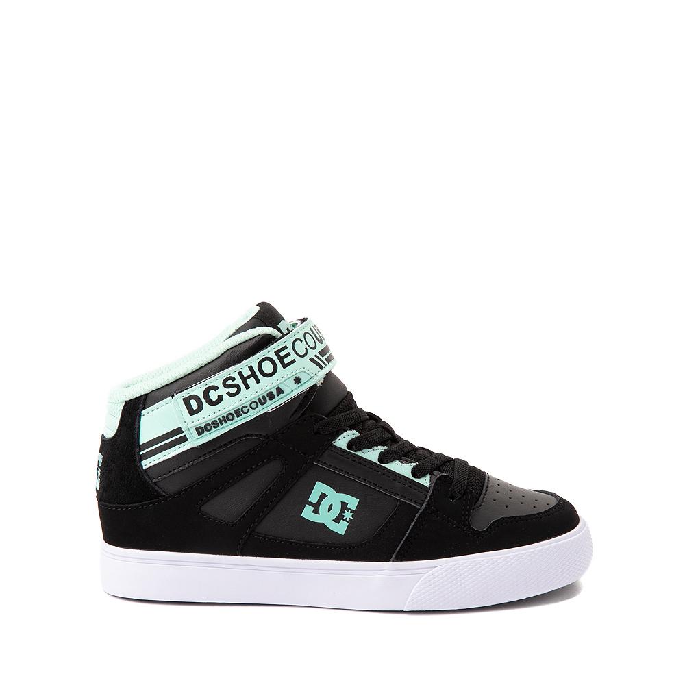 DC Pure Hi EV Skate Shoe - Little Kid / Big Kid - Black / Mint