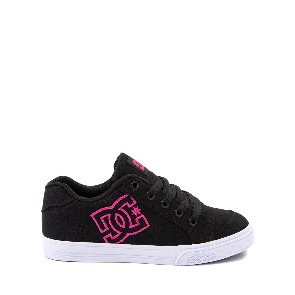 DC Chelsea Skate Shoe - Little Kid / Big Kid - Black / Pink
