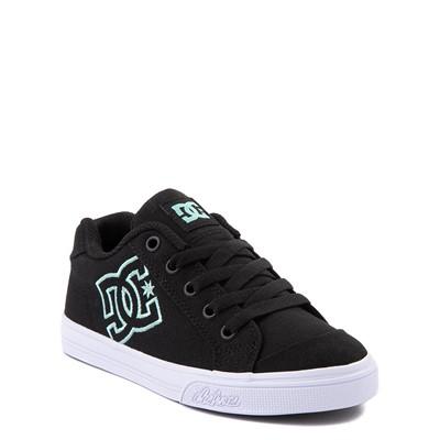 Alternate view of DC Chelsea Skate Shoe - Little Kid / Big Kid - Black / Mint