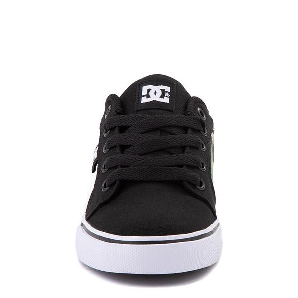 alternate view DC Anvil Skate Shoe - Little Kid / Big Kid - Black / CamoALT4
