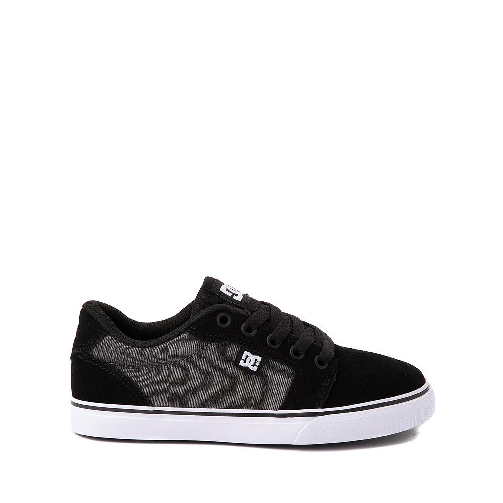 DC Anvil Skate Shoe - Little Kid / Big Kid - Black / Gray
