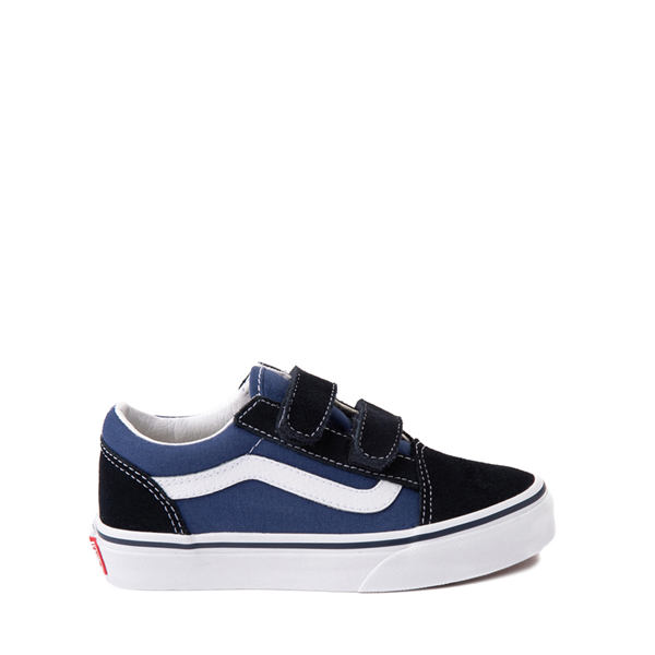 Vans Old Skool V Skate Shoe - Little Kid - Navy / Black