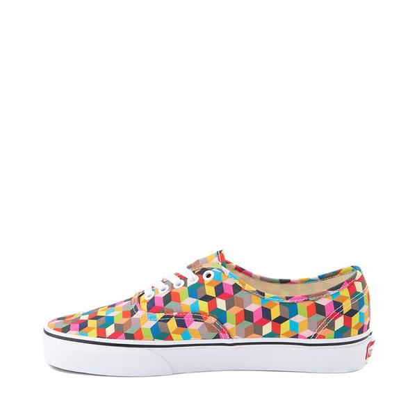 alternate view Vans Authentic 3D Checkerboard Skate Shoe - MulticolorALT1
