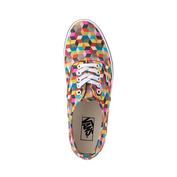 alternate view Vans Authentic 3D Checkerboard Skate Shoe - MulticolorALT2