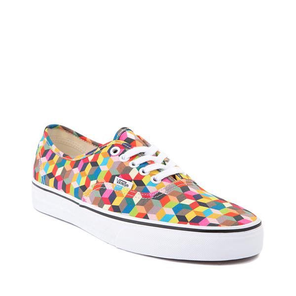 alternate view Vans Authentic 3D Checkerboard Skate Shoe - MulticolorALT5