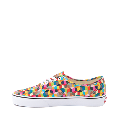 Alternate view of Vans Authentic 3D Checkerboard Skate Shoe - Multicolor