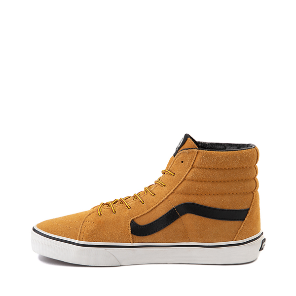 alternate view Vans Sk8 Hi Skate Shoe - Wheat / BlackALT1