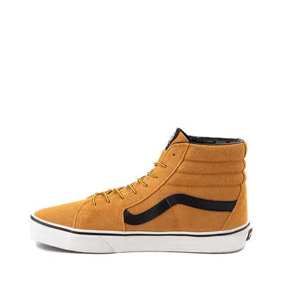Alternate view of Vans Sk8 Hi Skate Shoe - Wheat / Black