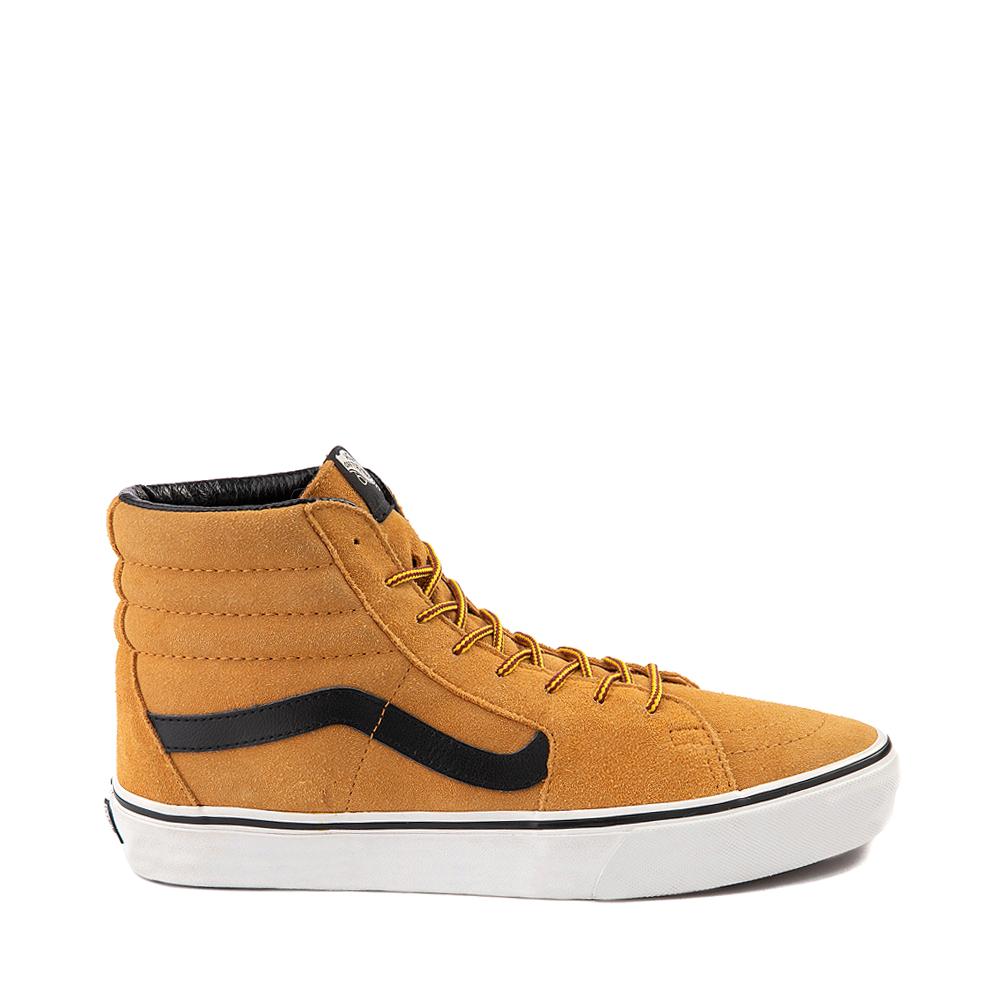 Vans Sk8 Hi Skate Shoe - Wheat / Black