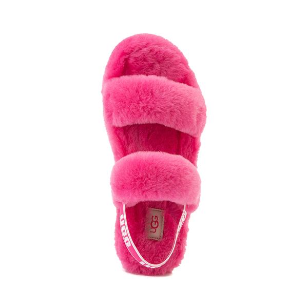 alternate view Womens UGG® Oh Yeah Slide Sandal - BerryALT2