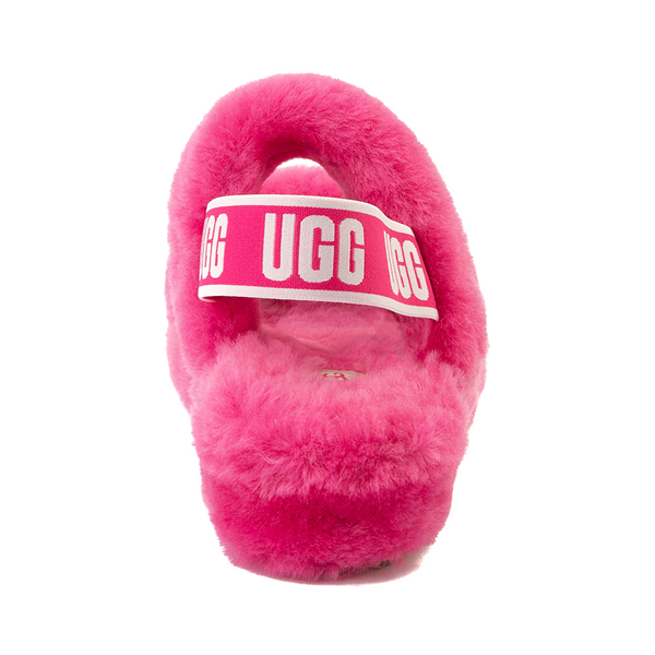 alternate view Womens UGG® Oh Yeah Slide Sandal - BerryALT4