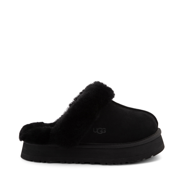 Main view of Womens UGG® Disquette Platform Clog - Black